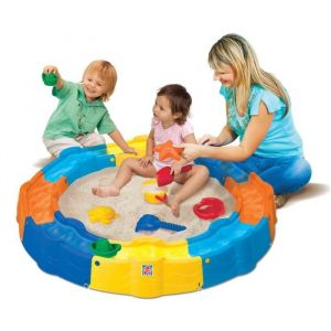 Grow'n up Build 'n Play Sandbox - Aire de jeux 2 en 1 sable et eau
