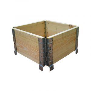 Multitanks Réhausse de palette en bois naturel 400x400mm
