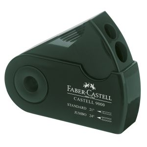 Faber-Castell Taille-crayon double usage Castell 9000