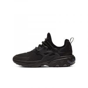 Nike Chaussure React Presto pour Enfant - Noir - Taille 38.5 - Unisex