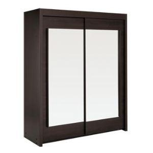 Armoire penderie 160 cm comparer 99 offres for Armoire porte coulissante largeur 160 cm