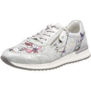 Remonte R7010, Sneakers Basses Femme, Multicolore (Ice/Offwhite-Metallic), 41 EU