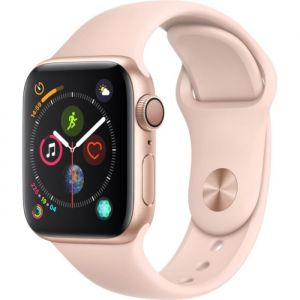 Apple Watch Series 4 - 40mm - Alu Or - Bracelet Sport Rose des sables