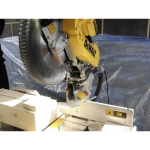 Dewalt Scie à coupe donglet radiale DWS780KIT + accessoires 1675 W 1 pc(s)