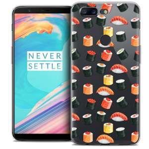 CaseInk Coque OnePlus 5T (6 ) Extra Fine Foodie Sushi