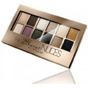 Maybelline The 24 Karat Nudes Eyeshadow - Palette