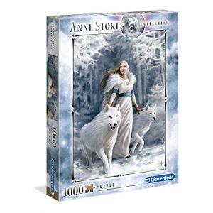 Clementoni Puzzle 1000 Pièces Anne Stokes - Gardiens De Lhiver