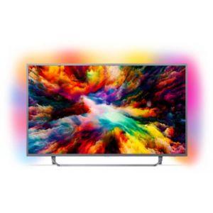 Philips 50PUS7303 - Téléviseur LED 126 cm 4K UHD avec Android TV et Ambilight 3