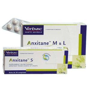Virbac Anxitane - Supplément nutritionnel appétent pour chiens et chats