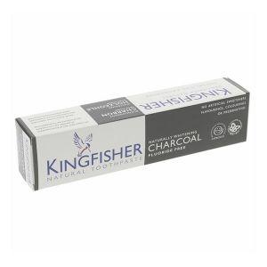 Kingfisher Dentifrice charbon et menthe blanchissant