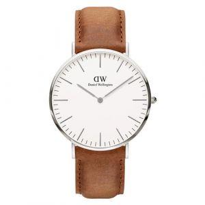Daniel Wellington DW00100110 - Montre pour homme avec bracelet en cuir