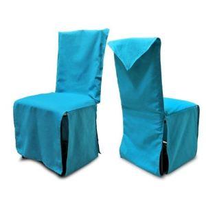 Housse de chaise Panama en coton recyclé