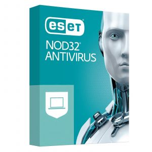 ESET NOD32 Antivirus 2020 (1 an 3 postes) [Windows]
