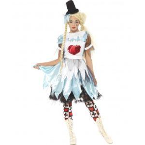 Déguisement Alice au pays des merveilles trash Halloween (taille L)