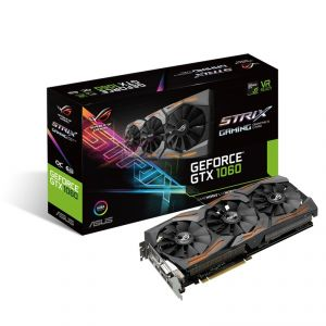 Asus STRIX-GTX1060-O6G-GAMING - Carte Graphique GeForce GTX 1060 STRIX OC 6 Go