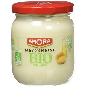 Amora Mayonnaise bio nature - Le pot de 180g