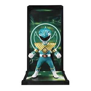 Cosmic Group Mighty Morphin Power Rangers Tamashii Buddies PVC Statue Green Ranger 9 cm