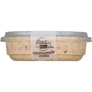 L'Atelier Blini Saumonade extra - saumon fumé sauvage & fromage frais