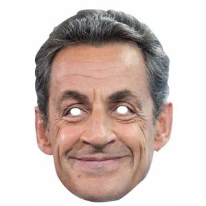 Masque Nicolas Sarkozy en carton