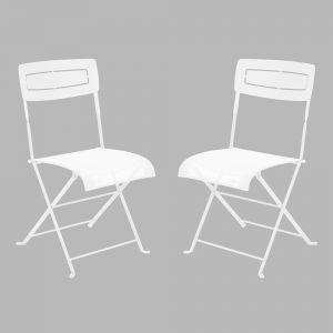 Fermob Slim - Chaise de jardin pliante en acier