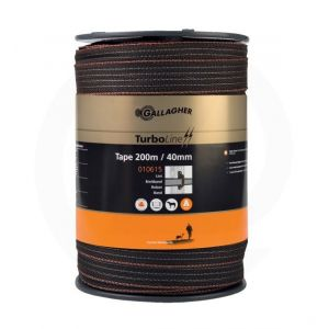 Image de Gallagher Ruban cloture Turbo - 200m x 40mm