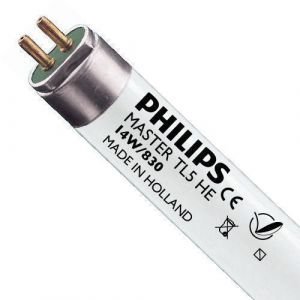 Philips Tube fluorescent Master TL5 HE T5 14 watts CC 830 G5 3000K