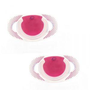 Bébé Confort Natural Physio silicone T2 - 2 sucettes (6-18 mois)
