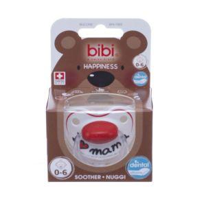 Bibi Sucette I Love Mama en silicone 0-6 mois