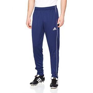 Adidas CV3988 Pantalons de survêtement Homme, Dark Blue/Blanc, FR : L
