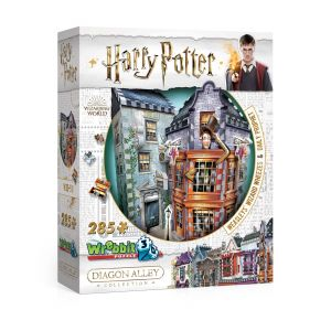 Wrebbit 3D Puzzle 3D - Harry Potter - Weasleys' Wizard Wheezes & Daily Prophet
