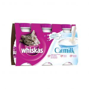 Whiskas Catmilk Lait pour Chat en bouteille 3x200ml