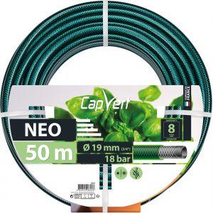 Cap Vert Tuyau d'arrosage Néo - Diamètre 19 mm - Longueur 50 m