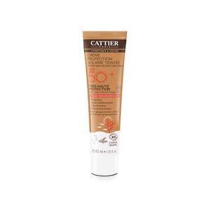 Cattier Crème Protection Solaire Teintée Universelle Haute Protection - 40 ml - SPF 50