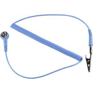 Tru Components Câble de mise à la terre antistatique (ESD) SpKL-4-183-SK 1364527 1.83 m 1 pc(s)