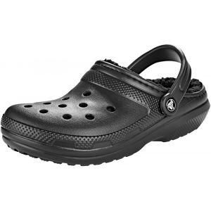 Crocs Classic Lined Sandales, black/black EU 38-39 Sandales Loisir