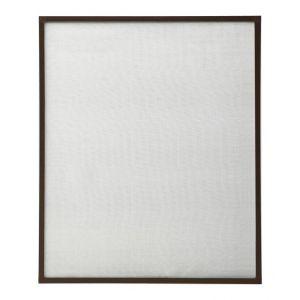 VidaXL Moustiquaire pour fenêtre Marron 110x130 cm