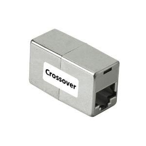 Hama 75042055 - Adaptateur Femelle /Femelle pour RJ45 (Pour coupler 2 câbles Droits en Croisé)