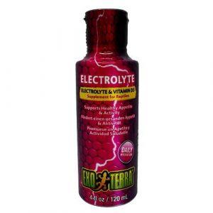 Exo terra Electrolytes et vitamines D3 - Contenance : 100ml