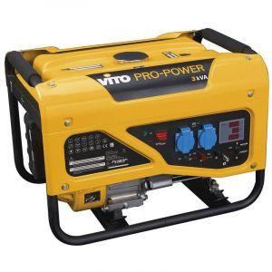 Vito Pro-Power Groupe électrogène 3KVA VITO Propower 2700W 6,5 CV 196 Cm3 Monophasé Autonomie 13h