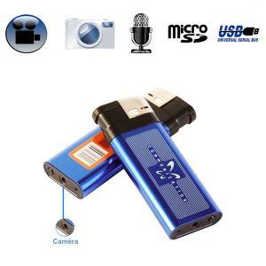 Yonis Y-bce2 - Briquet camera espion appareil photo enregistrement sonore USB