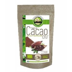 Ecoidées Cacao cru biologique en poudre 200g