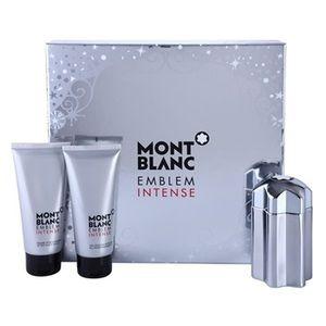 Mont Blanc Emblem Intense - Coffret eau de toilette, baume après-rasage et gel douche