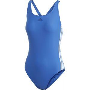 Adidas Fit 3-Stripes Maillot de bain 1 pièce Femme, blue EU 34 Maillots de bain