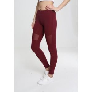 Urban classics Collants Legging tech mesh Grande Taille rouge - Taille EU 3XL,EU 4XL,EU 5XL