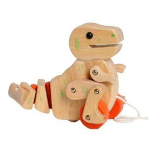EverEarth Jouet à tirer : Dinosaure T-Rex