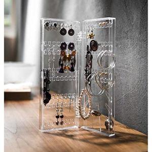 Rangement & cie RAN6042 - Porte bijoux vertical en polystyrène