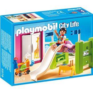 Playmobil 5579 City Life - Chambre d'enfant avec lit mezzanine