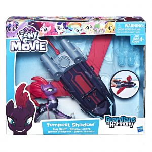 Hasbro My Little Pony Guardian of Harmony Tempest & Véhicule