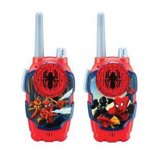 Talkie Walkies Spiderman FRS longue portée