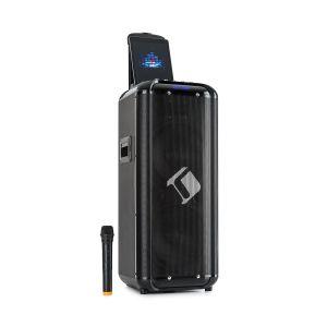 Auna Moving 2100 Sono portable bluetooth - 2 woofers 10 - Micro UHF - 2 ports USB - 300W